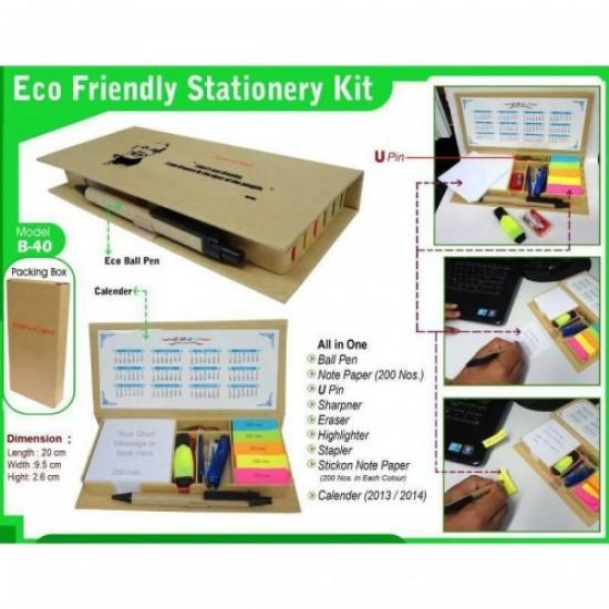 Eco-Friendly Stationery Kit